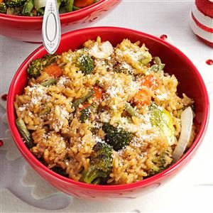 Roasted Vegetable Risotto Recipe
