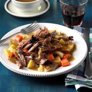 Root Vegetable Pot Roast    Recipe