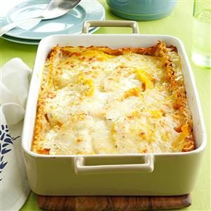 Rosemary Butternut Squash Lasagna Recipe