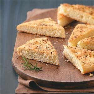 Rosemary-Garlic Focaccia Bread Recipe