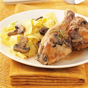 Rosemary Mushroom Chicken Recipe