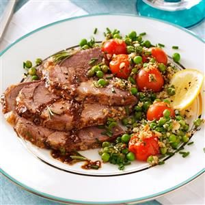 Rosemary Roasted Lamb Recipe