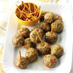 Rosemary Sausage Meatballs Recipe