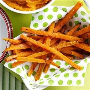 Menu #4 Side: Rosemary Sweet Potato Fries