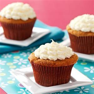 Rosy Rhubarb Cupcakes Recipe