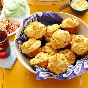 Rustic Garden Herb Biscuits Recipe
