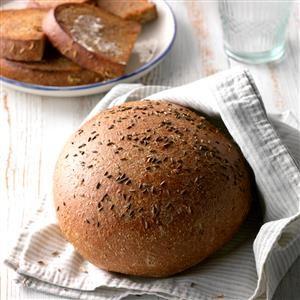 Rustic Rye Bread Recipe