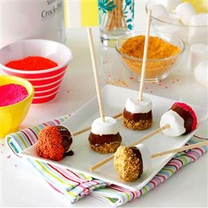 S'more Pops Recipe