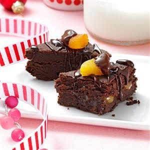 Sacher Torte Brownies Recipe