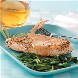 Sage-Dusted Chicken Recipe