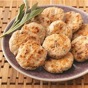 Sage Turkey Sausage Patties Recipe