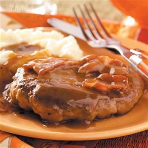 Salisbury Steak with Bacon Recipe