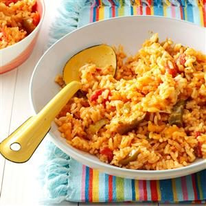 Salsa Rice Recipe