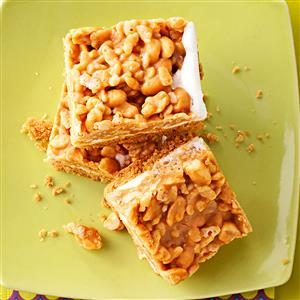 Watch Us Make: Salted Peanut Bars