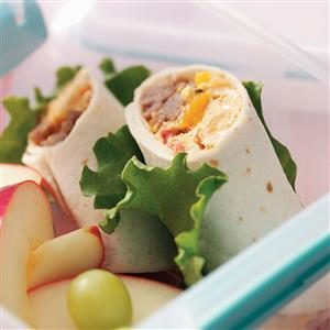 Sammie's Breakfast Burritos for Two Recipe