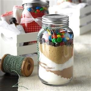 Sand Art Brownies Recipe