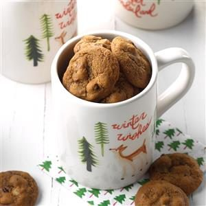 Santa's Wake-Up Cookies Recipe