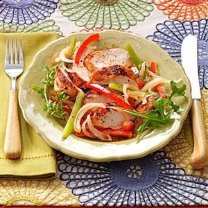 Sassy Chicken & Peppers Recipe