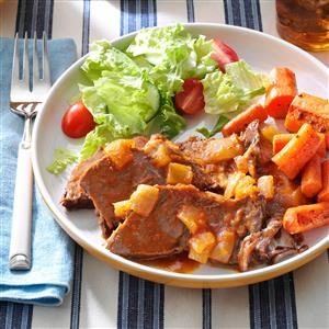 Sassy Pot Roast Recipe