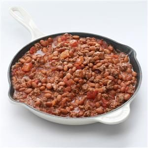 Saucy Beefy Beans Recipe
