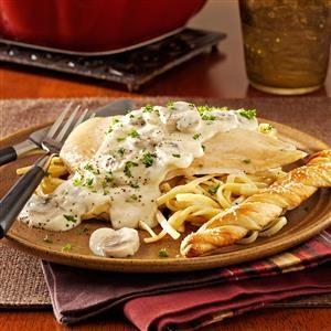 Saucy Chicken Casserole Recipe