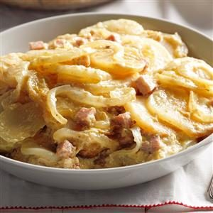 Saucy Scalloped Potatoes Recipe