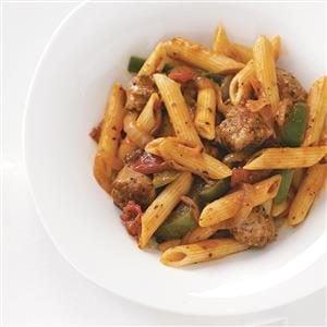 Sausage & Penne Marinara Recipe