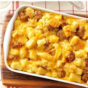 Sausage and Egg Casserole Recipe