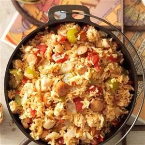 Sausage Chicken Jambalaya Recipe