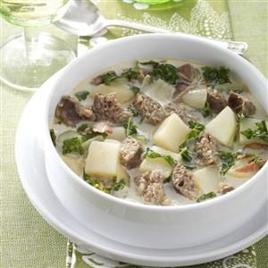 Sausage Kale Soup Recipe