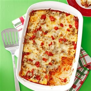 Sausage Ravioli Lasagna Recipe