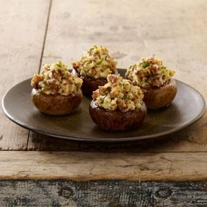 Johnsonville® Sausage Stuffed Mushrooms Recipe