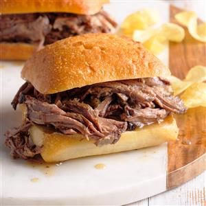Savory Beef Sandwiches Recipe