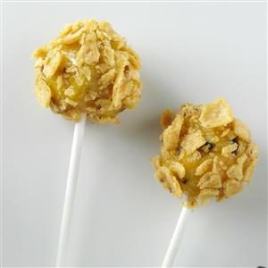 Savory Corn Bread Pops Recipe