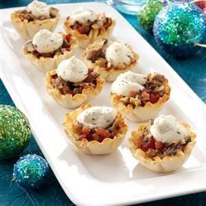 Savory Mushroom Tarts Recipe