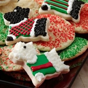Scottie Cookies Recipe