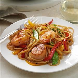 Seafood Pasta Delight Recipe