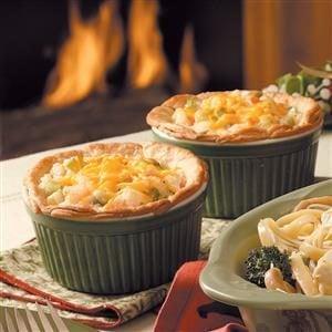 Seafood Potpies Recipe