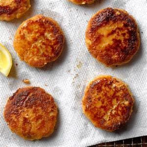 Seasoned Crab Cakes Recipe