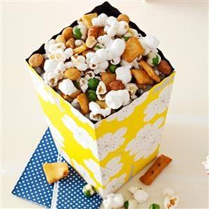 Sesame-Ginger Popcorn Recipe