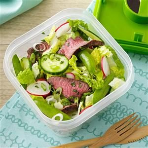 Sesame-Ginger Steak Salad Recipe