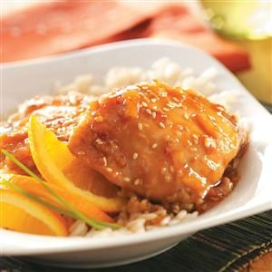 Sesame Orange Chicken Recipe