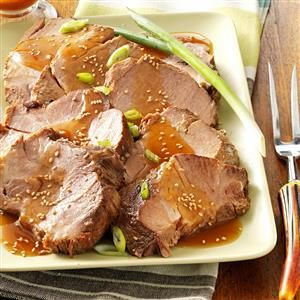 Sesame Pork Roast Recipe