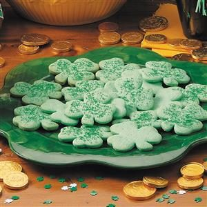 Shamrock Cookies Recipe