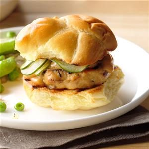 Shiitake-Chicken Sliders Recipe