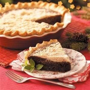 Shoofly Chocolate Pie