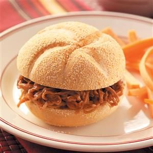 Shredded BBQ Beef Sandwiches Recipe