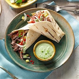 Shredded Pork Burritos Recipe