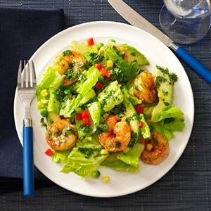 Shrimp & Avocado Salads Recipe