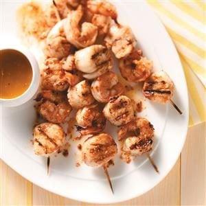 Shrimp and Scallop Kabobs Recipe